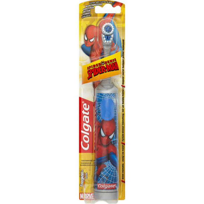 Colgate Spider Man Battery Toothbrush