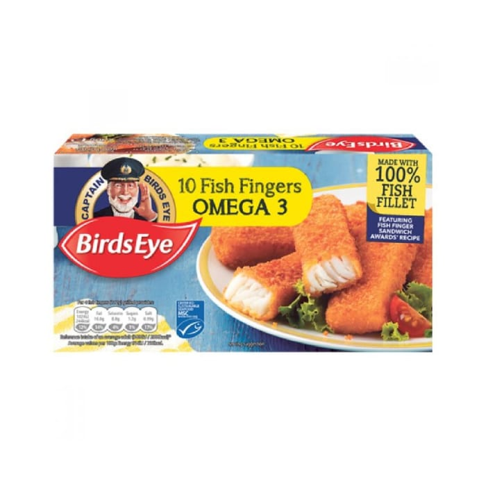 Birds Eye 10 Fish Fingers COD Fillet