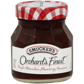 Smucker's Orchard's Finest Pacific Mountain Strawberry Preserves