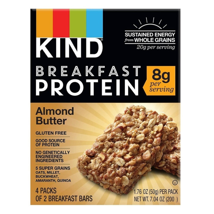 KIND Breakfast Protein Bars Almond Butter