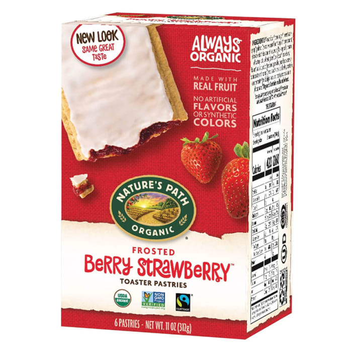 Nature's Path Organic Berry Strawberry Toaster Pastries