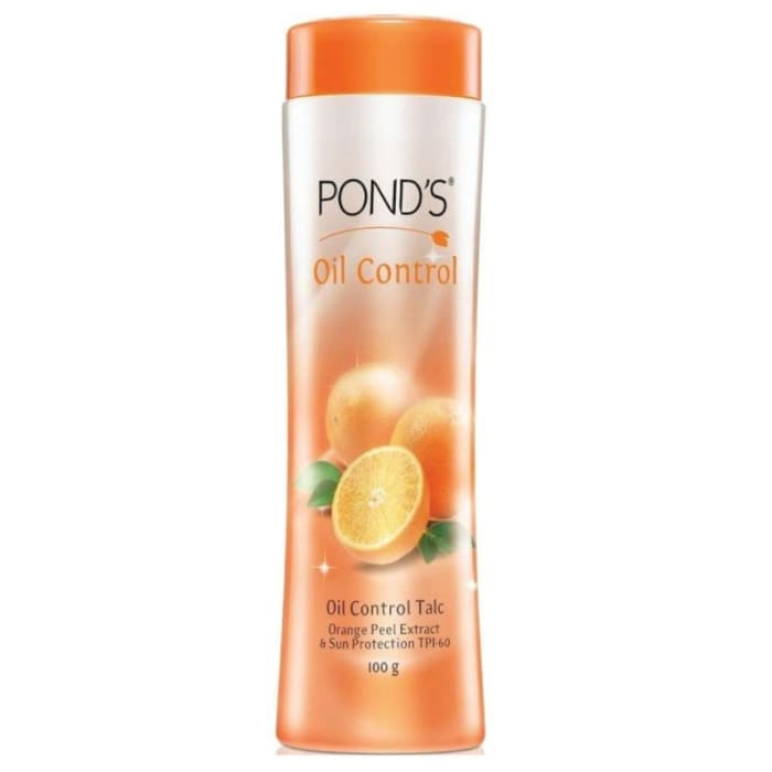 Ponds Oil Control Talc with Orange Peel Extract