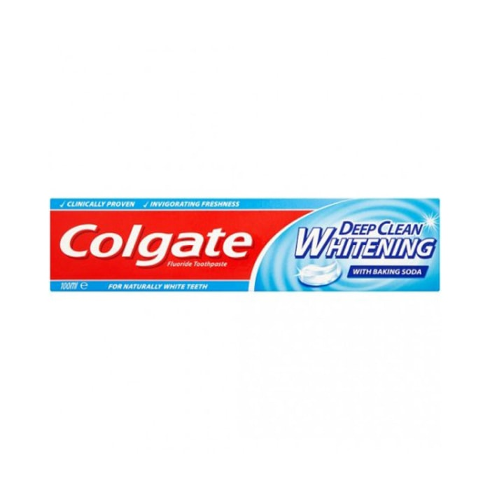 Colgate Whitening Deep Clean Toothpaste 100ml
