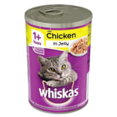 Whiskas 1+ Cat Tin with Chicken in Jelly