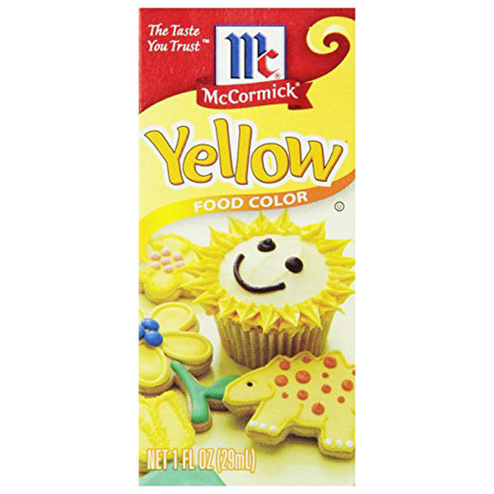 McCormick Yellow Food Color