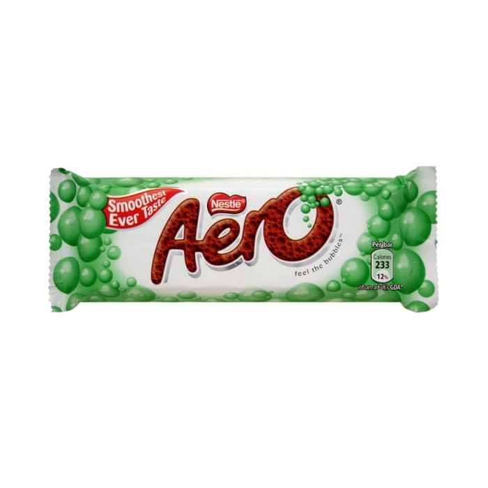 Nestle Aero Peppermint Chocolate Bar