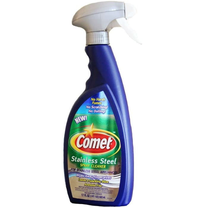 Comet Stainless Steel Spray Cleaner