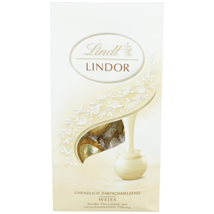 Lindt Lindoor Ball Weiss Milk Chocolate