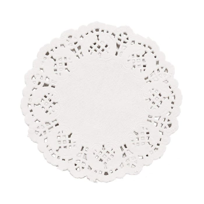 Hotpack Round Doilies Paper 3.5 Inch