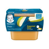 Gerber Pear Baby Pudding 113g