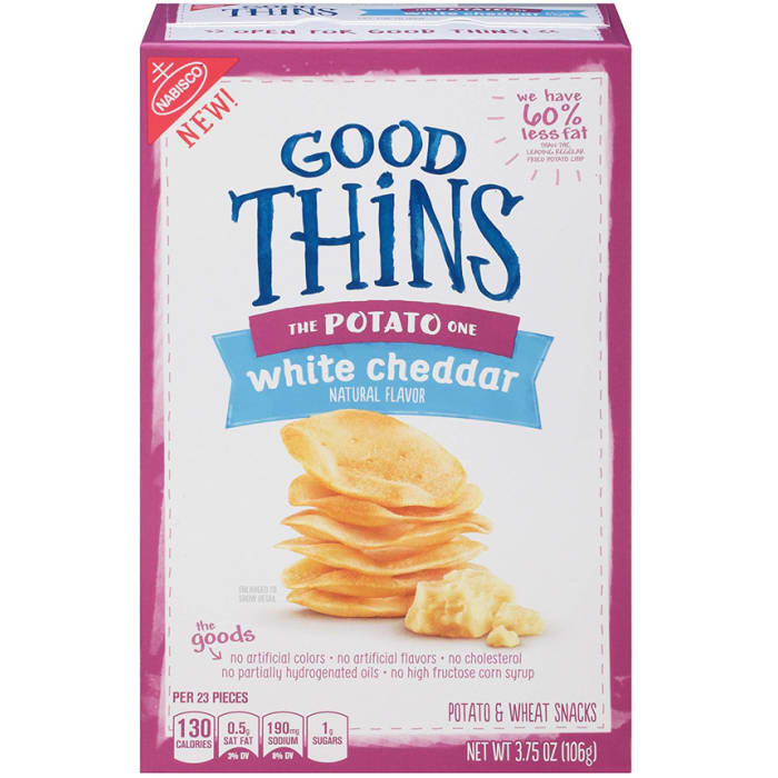 Nabisco Good Thin The Potato One White Cheddar Crackers