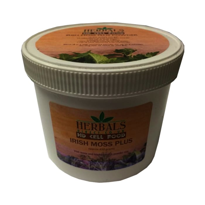 HD Cell Food Irish Moss Plus | Delivery: 04 - 08 Weeks