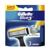 Gillette Blue Blade 3-3 Replacement