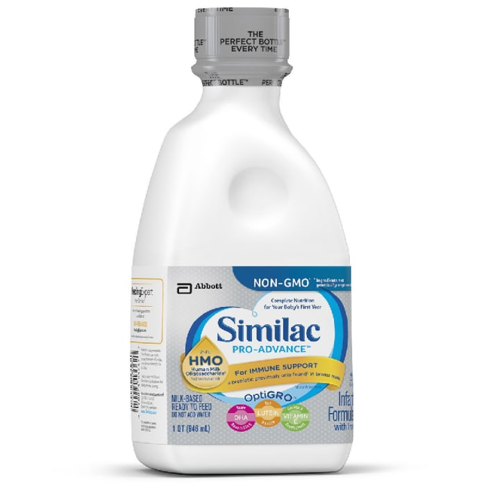Similac Pro-Advance Infant Formula with Human Milk Oligosaccharide (HMO) for Immune Support