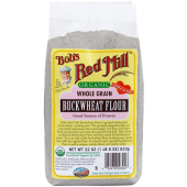 Bob's Red Mill Organic Whole Grain Buckwheat Flour 623 Grams