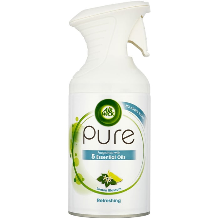 Air Wick Air Freshner Pure No Added Water Essential Oils Refreshing 250ml