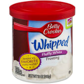Betty Crocker Frosting Whipped Fluffy White