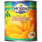 Hosen Tin Fruit Sliced Peaches In Syrup
