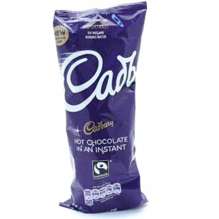 Cadbury Instant Hot Chocolate Drink 7 Cups 77g
