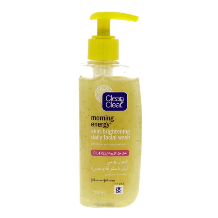 Clean & Clear Morning Energy Skin Brightening Daily Facial Wash