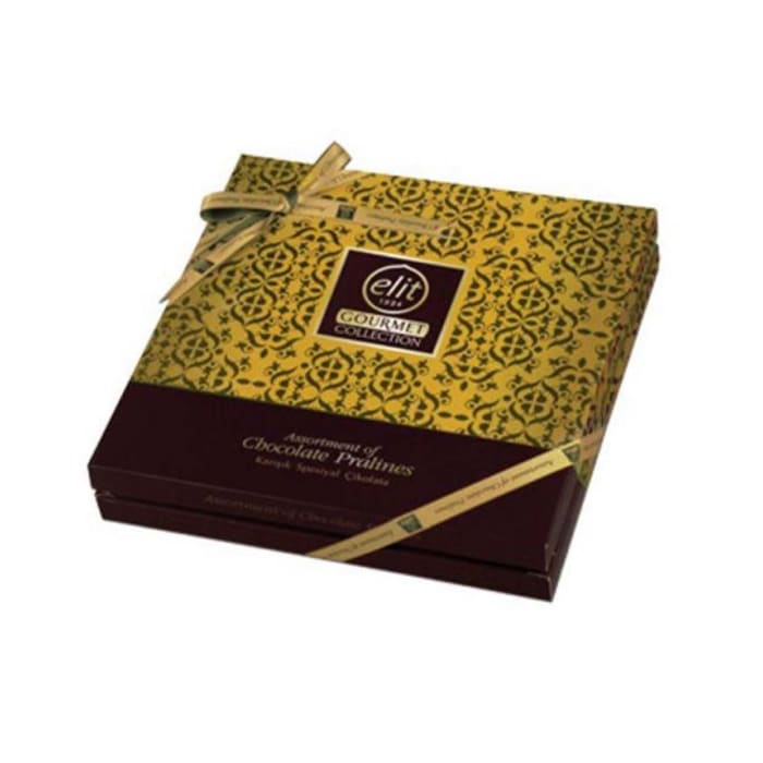 Elit Chocolate Gift Box Gourmet Collection Yellow 365g