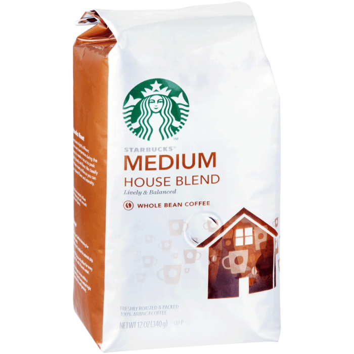 Starbucks Medium Breakfast Blend Whole Bean Coffee