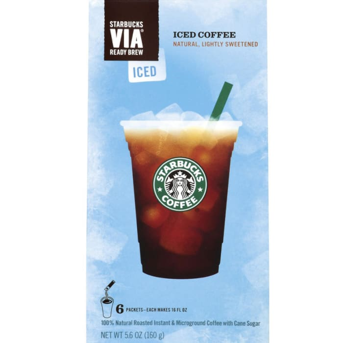 Starbucks Via Instant Iced Coffee