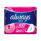 Always Ultra Super Plus Sanitary Pads 8Pcs
