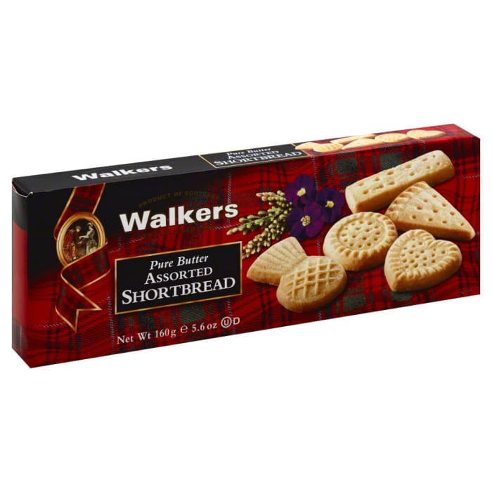Walkers  Crackers Pure Butter Assorted Short Bread