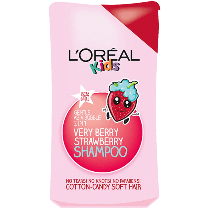 Loreal Kids Very Berry Strawberry Shampoo