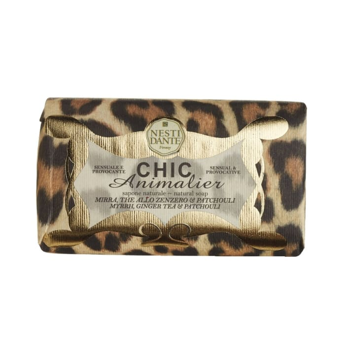 Nesti Dante Soap Chic Animalier Myrrh Ginger Tea Patchouli