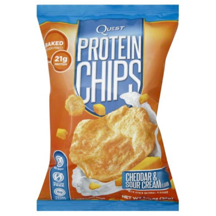 Quest Protein Chips Cheddar & Sour Cream Flavor