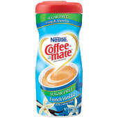 Coffee Mate Suger Free French Vanilla