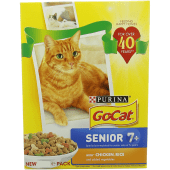 Purina GoCat with Chicken Rice and Vegetables Cat Food