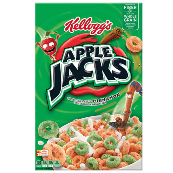 Kelloggs Apple Jacks Cinnamon Cereal