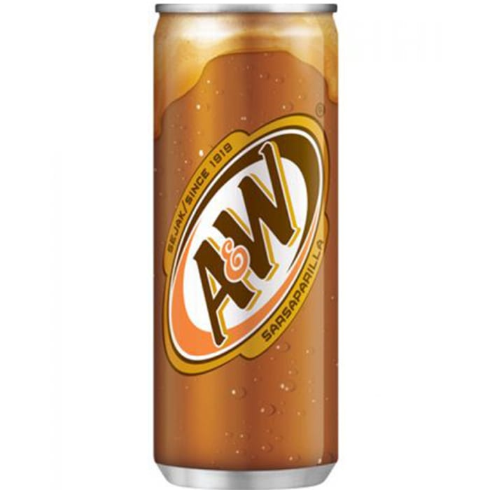 A&W Root Beer Tin