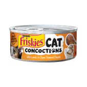 Purina Friskies Cat Concoctions with Lamb in Clam Flavored Sauce Wet Cat Food