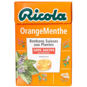 Ricola Candy Orange Mint Sugar Free 45g