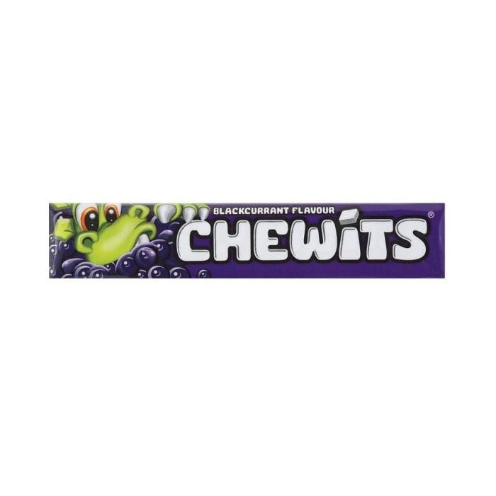 Chewits Blackcurrant Flavour Candy