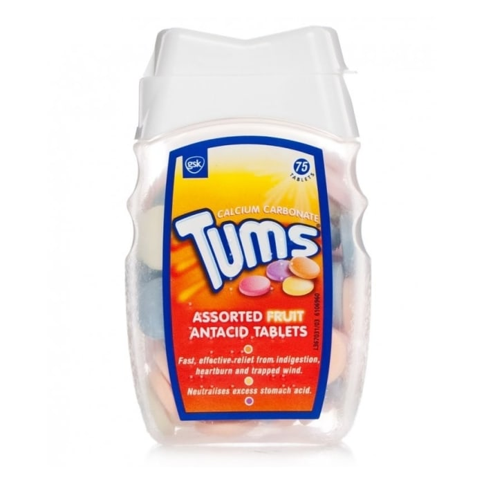 Tums Assorted Fruit Antacid Tablets