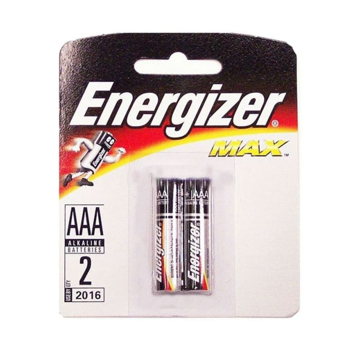 Energizer Batteries AAA-2 2016 No Max