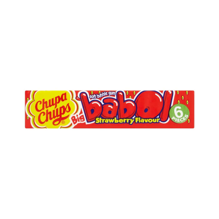 Chups Chups Gum Strawberry