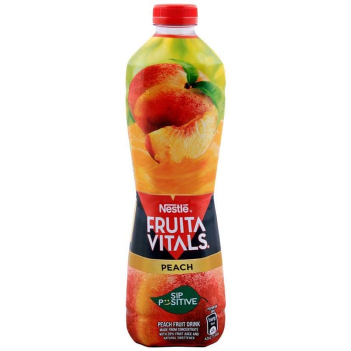 Nestle Fruita Vitals Peach Juice 1Ltr