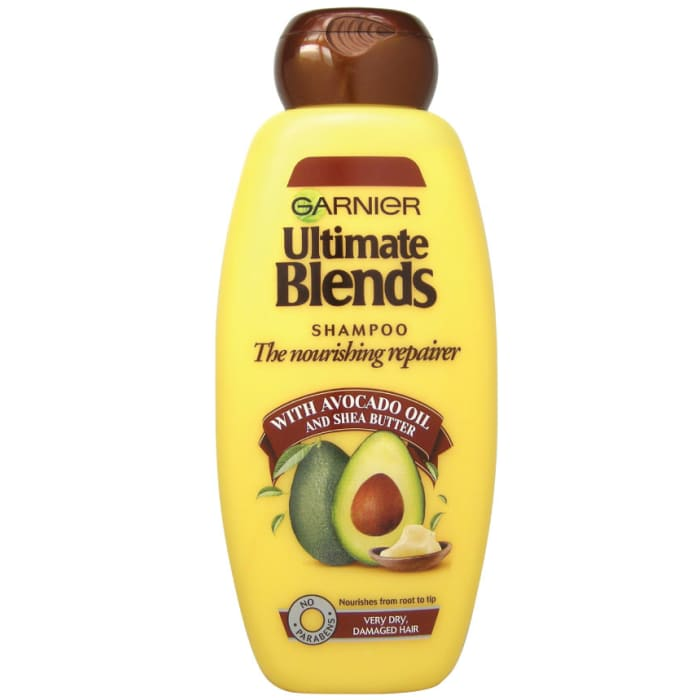 Garnier Ultimate Blends Avocado Damaged Hair Shampoo