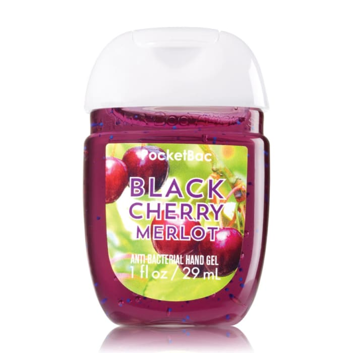 Bath & Body Works PocketBac Hand Sanitizer Gel Black Cherry Merlot