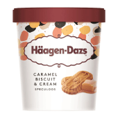 Häagen-Dazs Caramel Biscuit & Cream Ice Cream 473ml