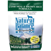 Natural Balance LID Lamb Meal & Brown Rice Dry Dog 2.04Kg