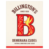 Billingtons Demerara Cubes Sugar