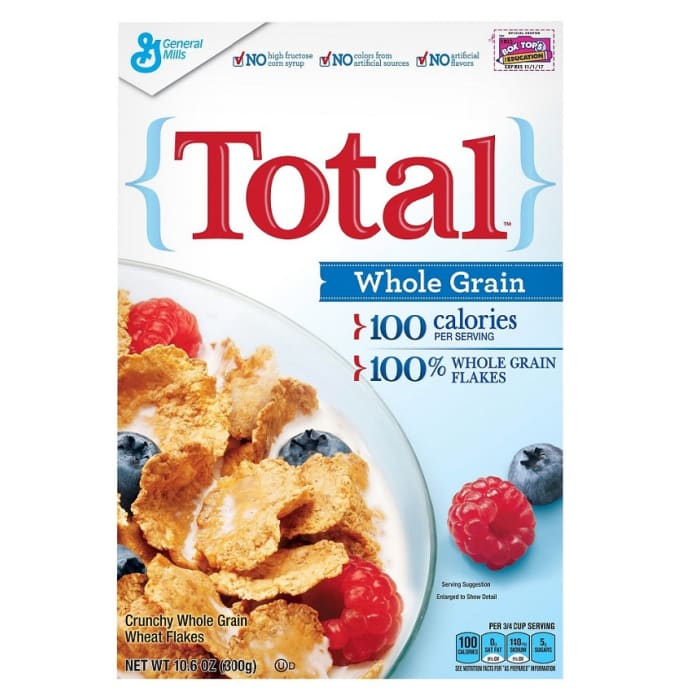 General Mills Total Cereal Whole Grain