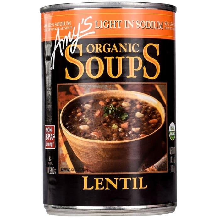 Excellent Amys Kitchen Organic Soup Low Sodium Lentil Soup Download Free Architecture Designs Intelgarnamadebymaigaardcom